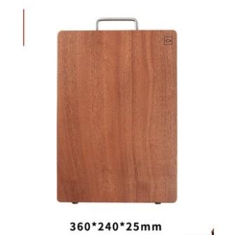 火候 乌檀木整木切菜板 360*240*25mm