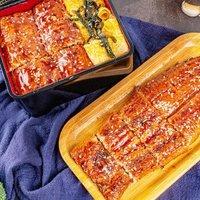 拌饭贼好吃:九里京 蒲烧鳗鱼250g*3件+蒲烧鳗鱼330g整条装