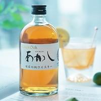 值友专享:AKASHI 明石 白橡木调和威士忌 500ml