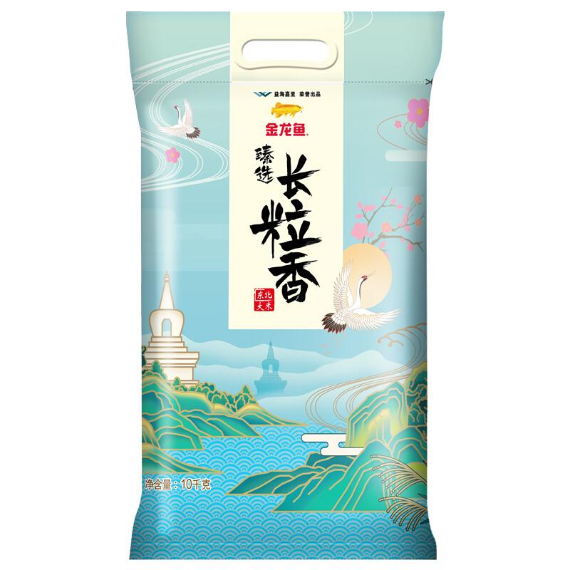 金龙鱼 长粒香大米 10kg
