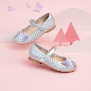 balabala 巴拉巴拉 女童公主鞋甜美单鞋2021春新款