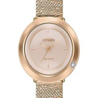 Citizen 西铁城 女士环保驱动腕表
