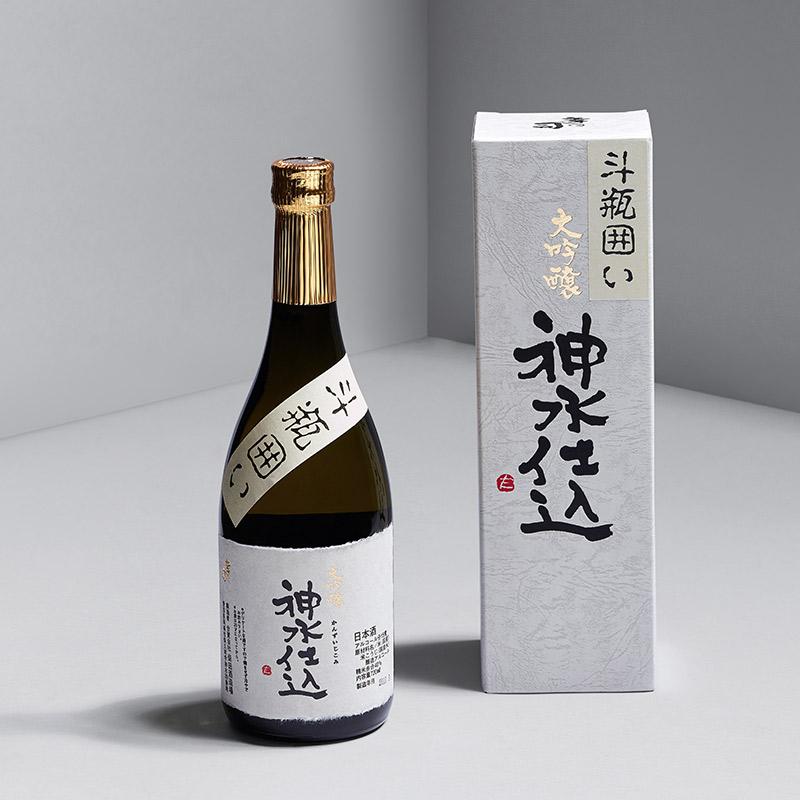 米嗅神水仕込斗瓶围日本大吟酿清酒原装进口米酒日式发酵酒