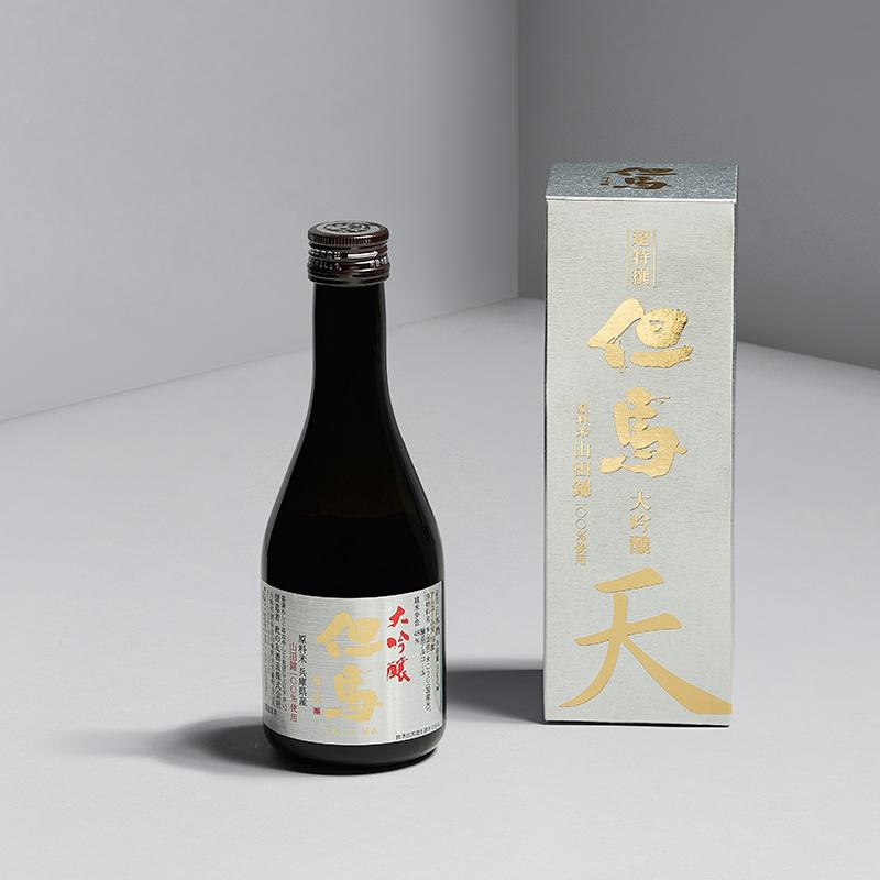 米嗅但马银特选日本大吟酿清酒原装进口米酒日式发酵酒小瓶300ml
