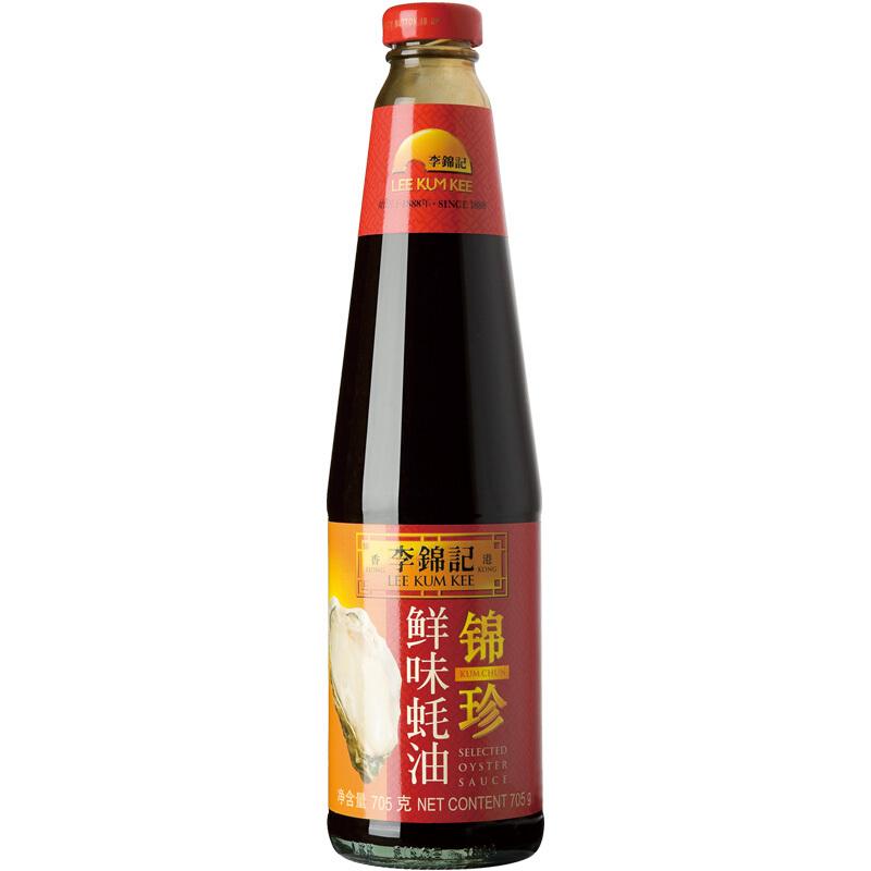 LEE KUM KEE 李锦记  锦珍鲜味蚝油  705g