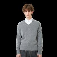 JackJones 杰克琼斯 219325510YS 羊毛混纺针织衫