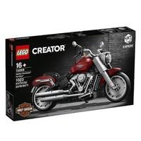 百亿补贴:LEGO 乐高 Creator创意百变高手系列 10269 哈雷戴维森肥仔摩托车