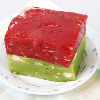 黃富興蘇州特產豬油年糕傳統手工糕點玫瑰薄荷味點心糕團年貨500g