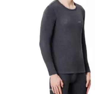 Miiow 猫人 男士保暖内衣套装 深灰 XL