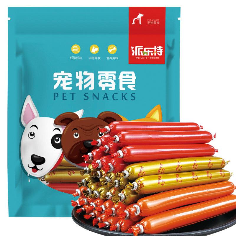 派乐特 猫零食火腿肠 混合口味15g*30根 成幼猫咪零食食品 *10件