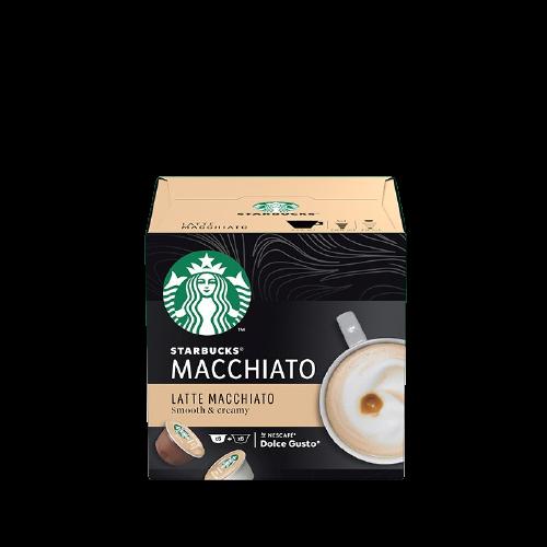 STARBUCKS 星巴克 中度烘焙 拿鐵瑪奇朵 膠囊咖啡 129g