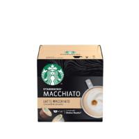 STARBUCKS 星巴克 中度烘焙 拿铁玛奇朵 胶囊咖啡 129g