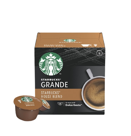 STARBUCKS 星巴克 中度烘焙 特选综合 美式综合 胶囊咖啡 102g