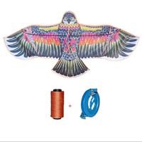 可爱布丁 2米老鹰风筝 18轮300米线+连接器