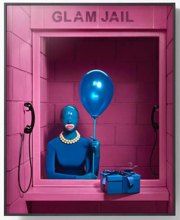 巴西法籍艺术家波尔·克鲁兹《华丽监狱1号 》Glam Jail Series No.1