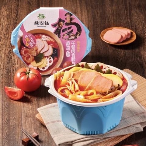 杨国福 麻辣烫 午餐肉番茄味 410g 单盒装