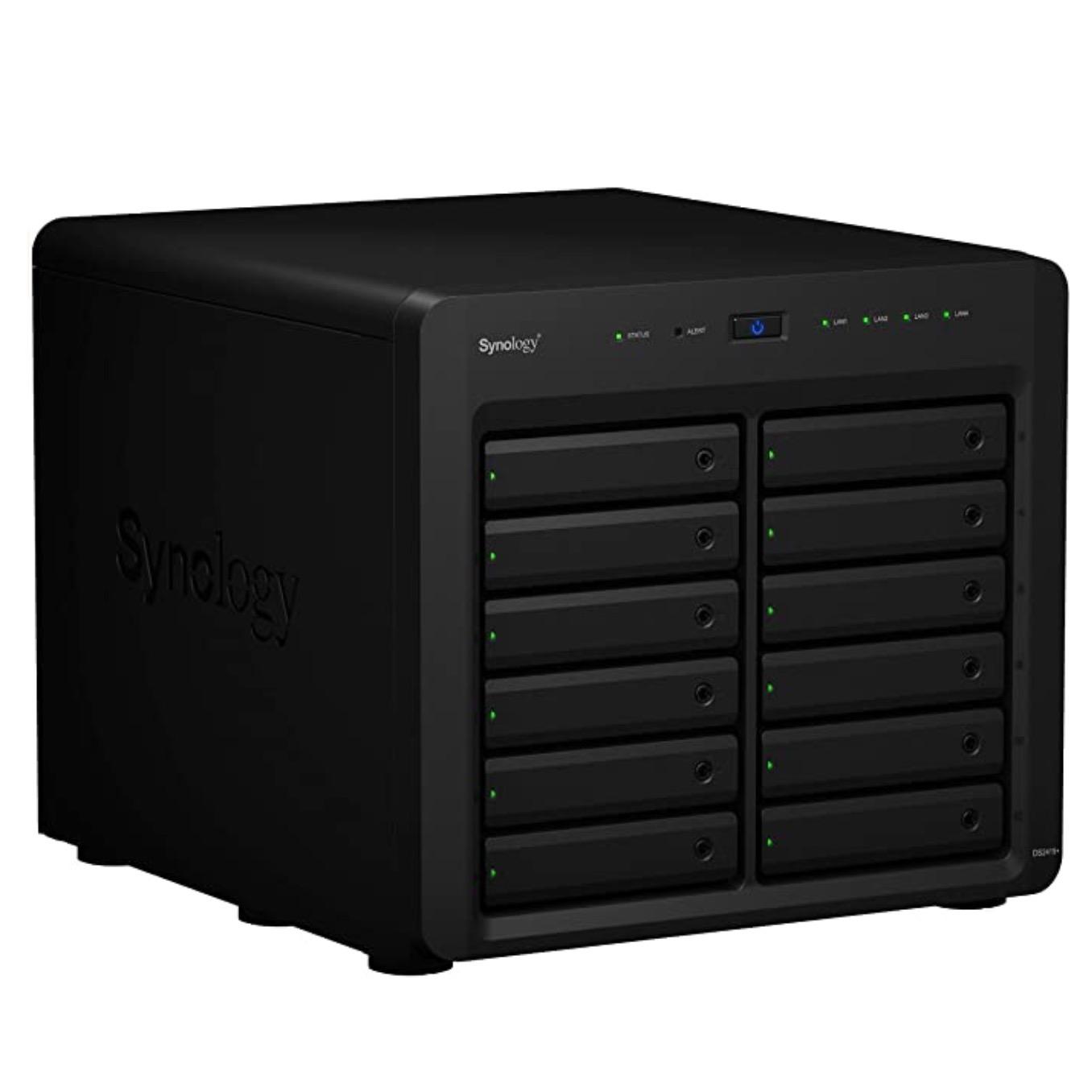 Synology 群晖 DS2419+ 12盘位NAS (C3538、4GB)