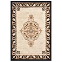 GENTLEMAN DOG 绅士狗 1777BK黑金系列 欧式地毯 长方形 1.6*2.3m