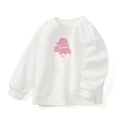 巴拉巴拉童装儿童打底衫女童长袖T恤春季2021新款小宝套头衫 *2件