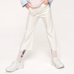 巴拉巴拉女童长裤儿童裤子新款春季中大童九分喇叭裤时尚 *2件