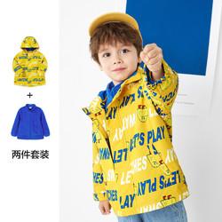 巴拉巴拉儿童外套男童春装2021新款童装