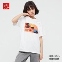 UNIQLO 优衣库 女装 (UT) Musician-Troye Sivan印花T恤(短袖) 437904