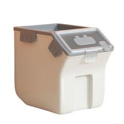 宠物密封滚轮11kg储粮桶+送量杯