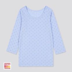 婴儿/幼儿 HEATTECH U领T恤(长袖 温暖) 429859