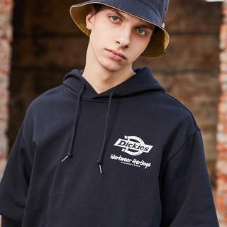 Dickies 帝客 DK008875 男式假两件连帽帽衫logo卫衣