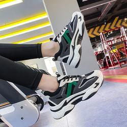 ins韩版老爹女鞋2021春季新款休闲运动鞋女学生街拍厚底增高鞋