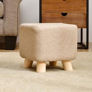 JIAYI 家逸 实木凳子 方形 单个