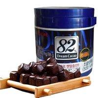 有券的上、限地区:LOTTE 乐天 82%黑巧克力 86g *5件