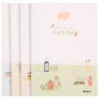 M&G 晨光 FA5465 悠闲时光系列笔记本 A5/40页 4本装 *5件