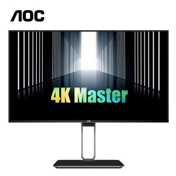 AOC U27U2D 27英寸AH-IPS显示器(4K、109%sRGB、HDR400)