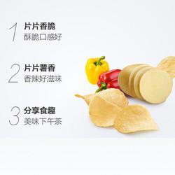天猫超市可比克袋装薯片香辣味60g*6包