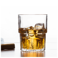 Duralex 多莱斯 钢化玻璃威士忌堆叠酒杯 4只