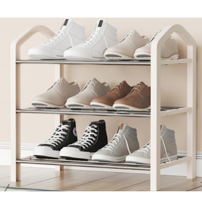 葛诺 简易三层家用鞋架