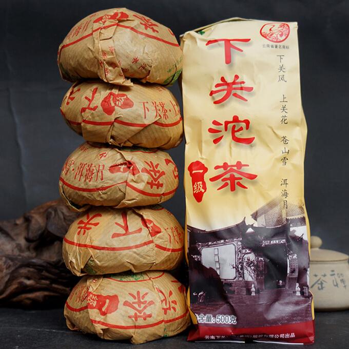 下关 沱茶 2011年一级生茶便装 100g*5沱/袋 *2件