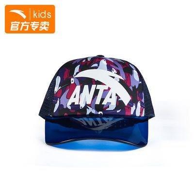 ANTA 安踏 儿童遮阳鸭舌帽