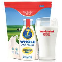 Weidendorf 德亚 高钙全脂奶粉 900g
