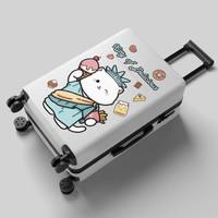 行李箱女学生韩版密码拉杆箱旅行箱