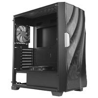 Antec 安钛克 PARAMETER DF700 FLUX ATX机箱 半侧透 黑色