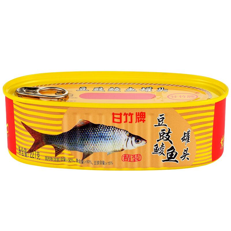 甘竹牌 豆豉鲮鱼罐头 227g