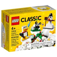LEGO 乐高 Classic经典创意系列 11012 白砖创意盒
