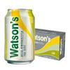 Watsons 屈臣氏 苏打汽水 柠檬草味 330ml*24罐