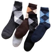 Nan ji ren 南极人 男士中筒袜套装 N8F5X 5双装 混色