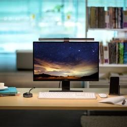明基ScreenBar Plus工作卧室宿舍书桌显示器屏幕挂灯护眼智能台灯