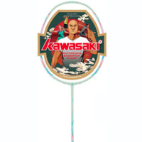 KAWASAKI 川崎 青花瓷Q5 羽毛球拍 单支装 空拍