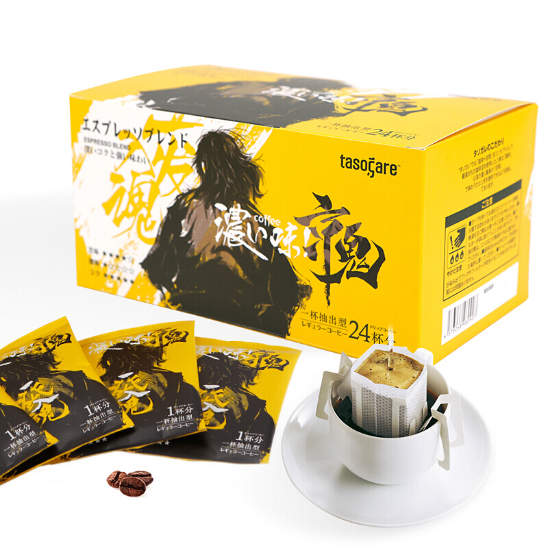 TASOGARE 隅田川 京鬼 特浓挂耳式黑咖啡粉 24片