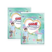 GOO.N 大王 花信风系列 纸尿裤 L2片*2包 经典款